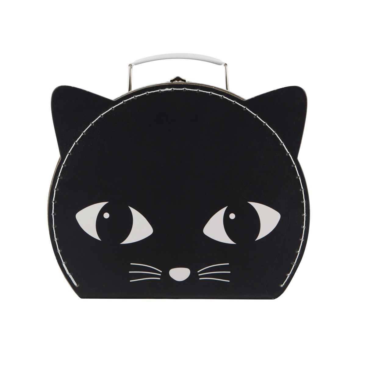 Větší černá kočička