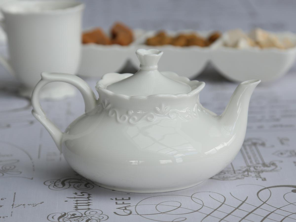 """Porcelánová konvice """"Provence"""" - nižší"""