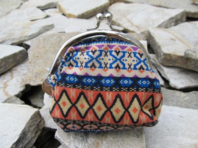 Textilní peněženka - velikost M