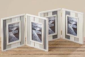 Dřevěný dvojrámeček na fotografii