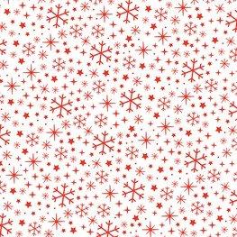 Balicí papír Snowflake 70 x 49 cm