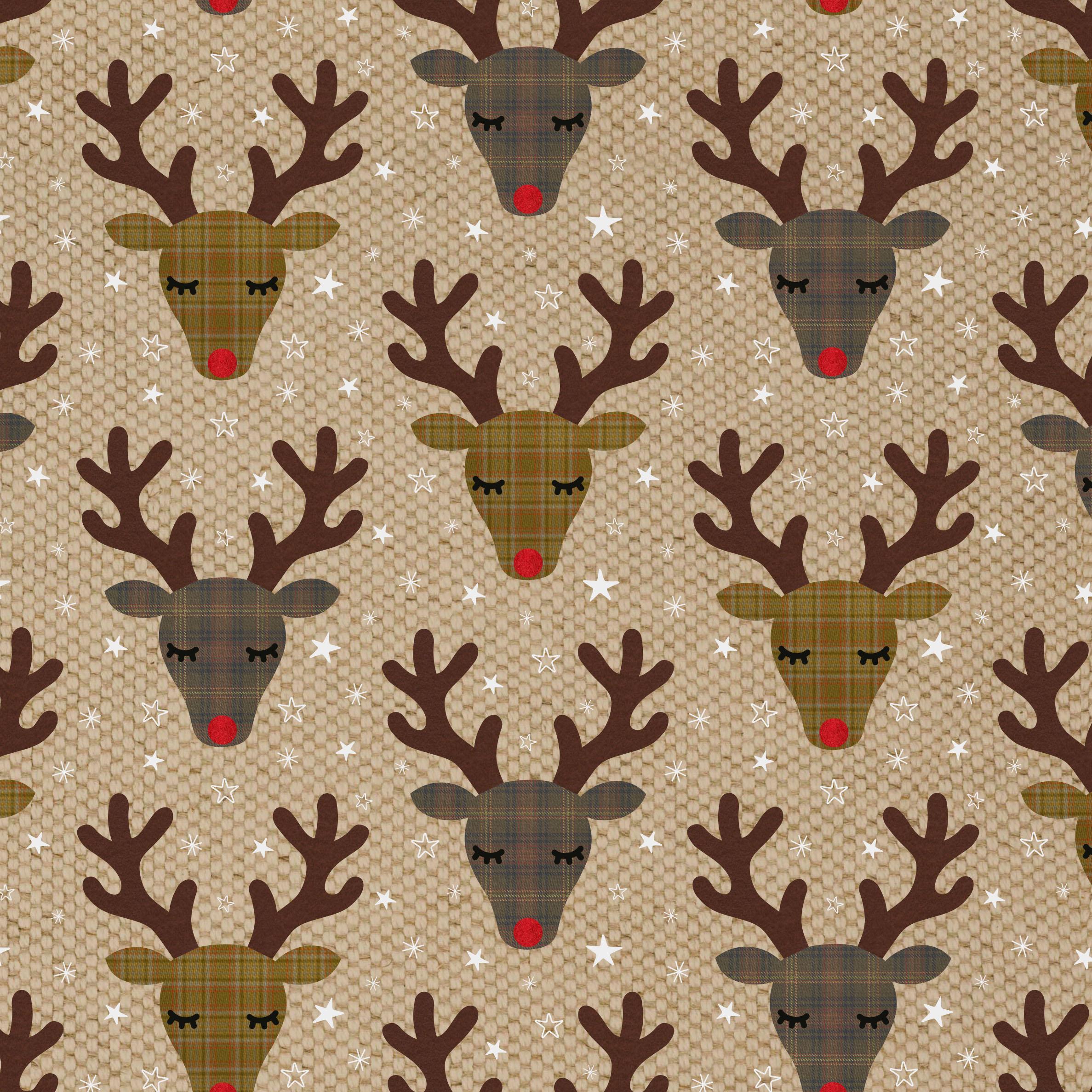 Balicí papír Reindeer 70 x 49 cm