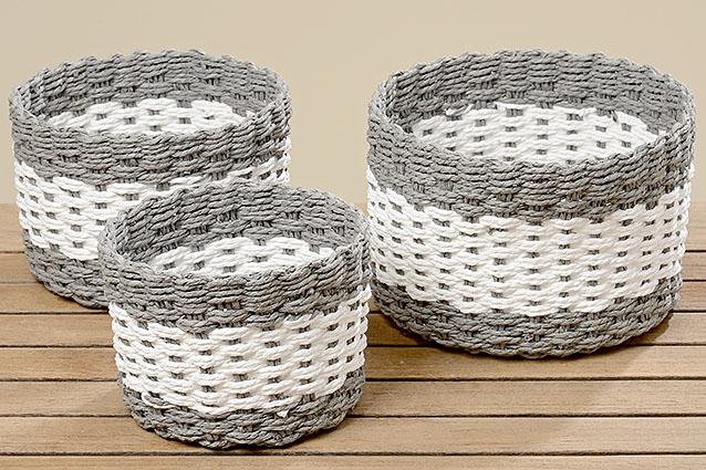 Pletený košík - střední