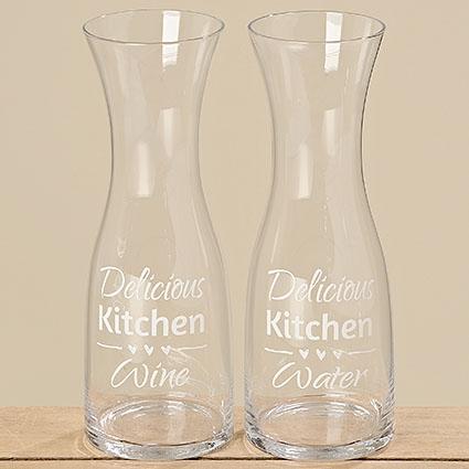 "Skleněná karafa ""Delicious Kitchen"" - 900 ml"