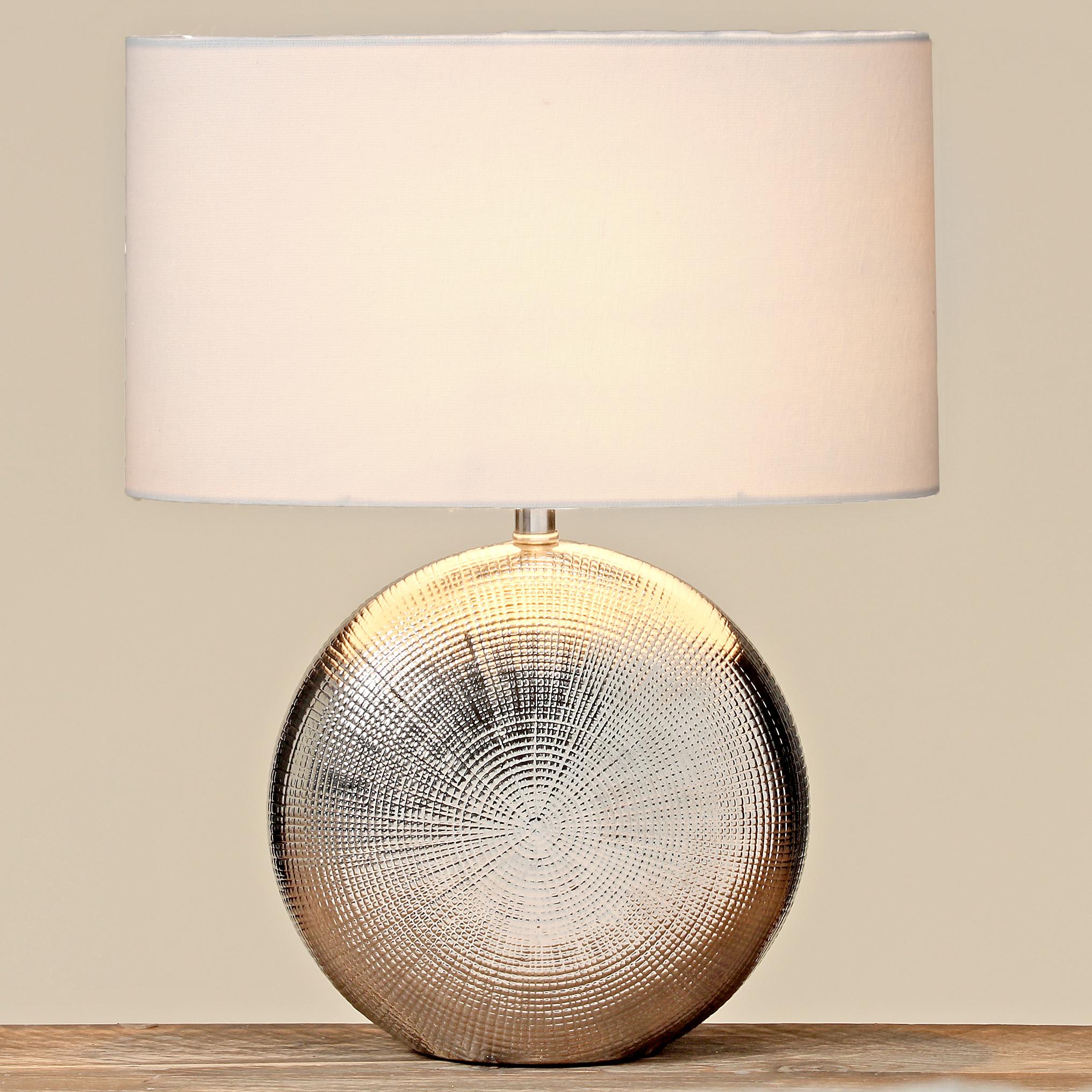 Stojací lampa s keramickou nohou - 41 cm