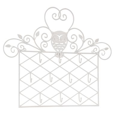 Stojánek na šperky 53 cm - bílý