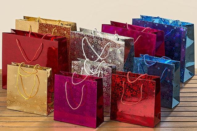 Dárková taška set 2 ks - 20 cm a 27 cm
