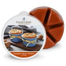 "Vonný vosk Goose Creek Candle ""Pumpkin spice muffin"""